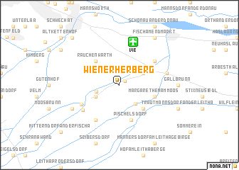 map of Wienerherberg