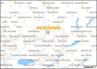 map of Wiesengrund