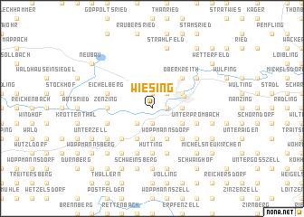 map of Wiesing
