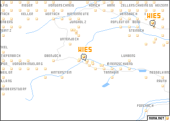 map of Wies