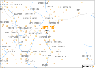 map of Wieting