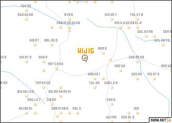 map of Wijig