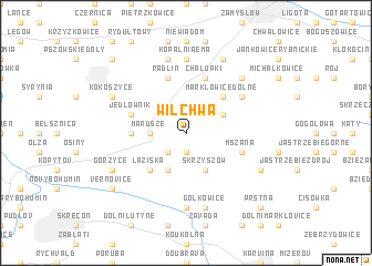 map of Wilchwa