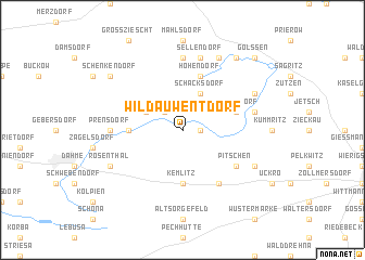 map of Wildau-Wentdorf