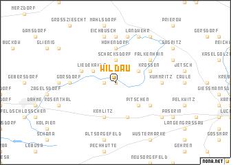 map of Wildau