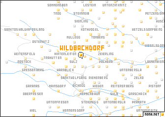 map of Wildbachdorf