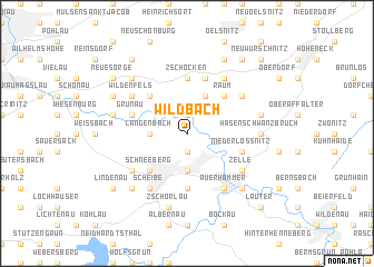 map of Wildbach