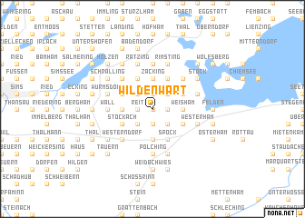 map of Wildenwart