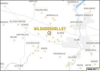 map of Wildwood Valley