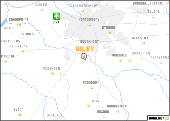 map of Wiley