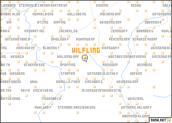 map of Wilfling