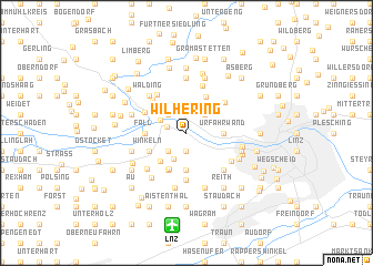 map of Wilhering