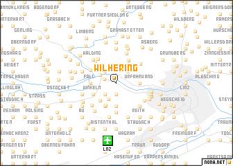 map of Wilhering
