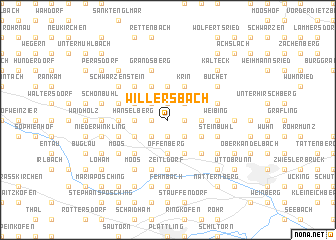 map of Willersbach