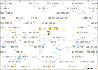 map of Willingen