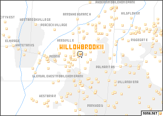 map of WillowBrook II