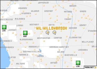 map of Willowbrook