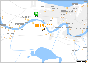 map of Willswood