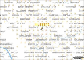 map of Wilsberg