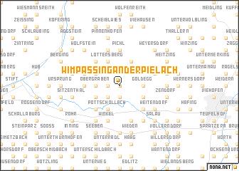 map of Wimpassing an der Pielach