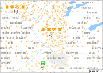 map of Wimpassing