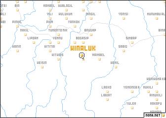 map of Winaluk
