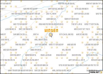 map of Winden