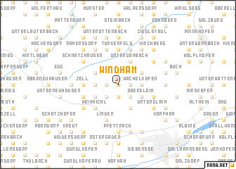 map of Windham