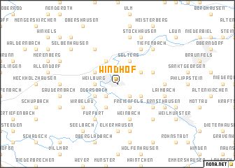 map of Windhof