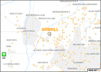 map of Windmill