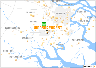map of Windsor Forest