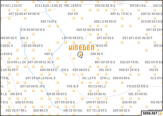 map of Wineden