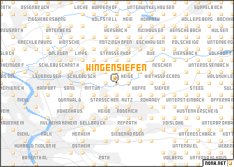 map of Wingensiefen