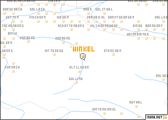 map of Winkel