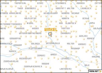 map of Winkel