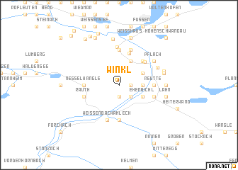 map of Winkl