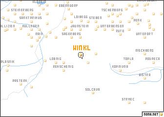 map of Winkl