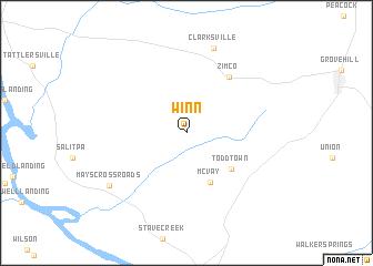 map of Winn
