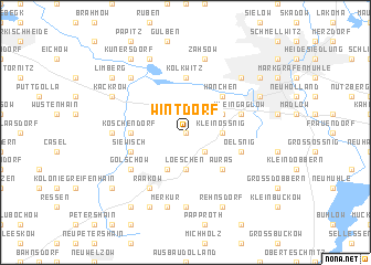 map of Wintdorf