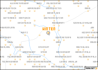 map of Winten