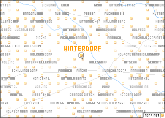 map of Winterdorf