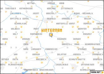 map of Winternam