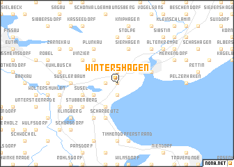 map of Wintershagen