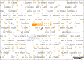 map of Wippendorf