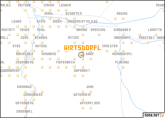 map of Wirtsdörfl