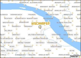 map of Wischhafen