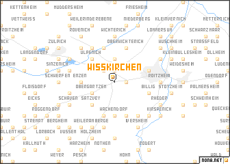map of Wißkirchen