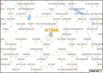 map of Witawa