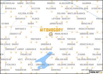 map of Witowo Góry