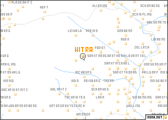 map of Witra